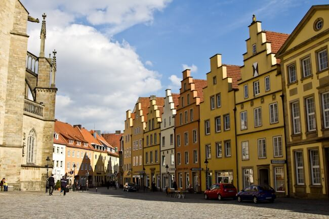 Hanseatic City: Osnabrueck's Merchant Houses