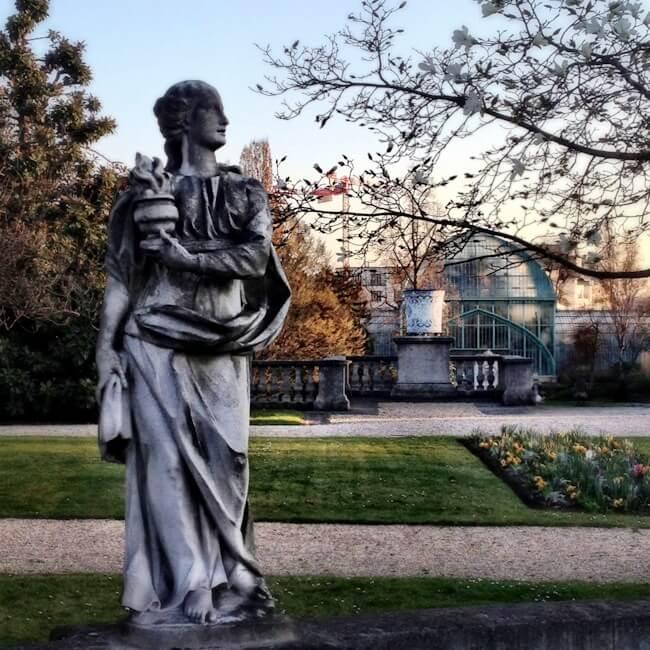 Jardin des Serres d'Auteuil Paris, France