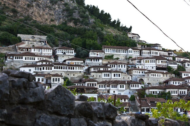 Mangalem; Berat's UNESCO listed Old Town