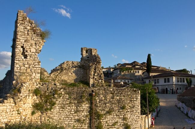UNESCO listed Berat Castle