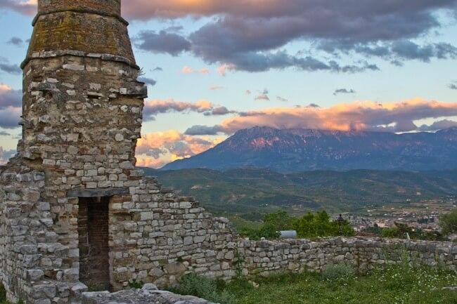 Red Mosque at Berat Castle