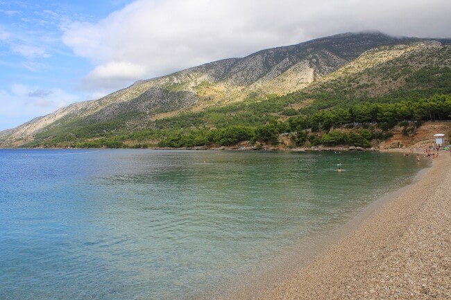 Bol on Brac Island in September
