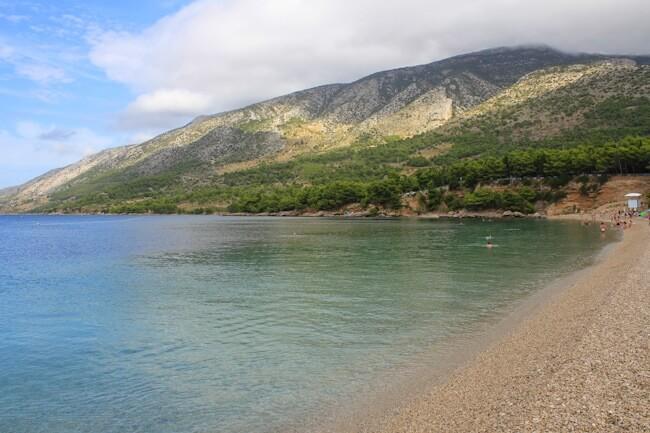Bol on Brac Island in September