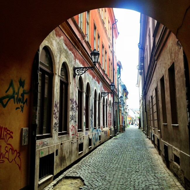 Side Streets of Kosice