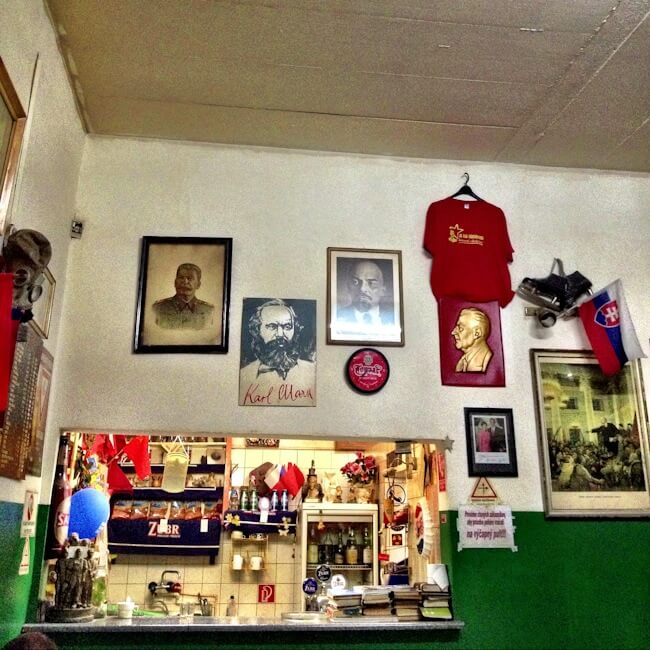 Communism is alive and well in this bar in Kosice