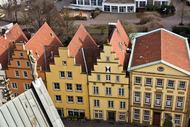 Merchant Houses in Osnabrueck Germany