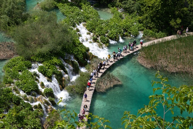 Plitvice Lakes in Early Summer