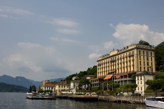 Villa Tremezzo - unfortunately not our hotel