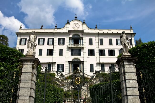 Villa Carlotta on the Shores of Lake Como