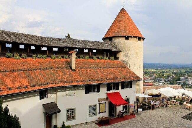 Bled Caslte in Slovenia