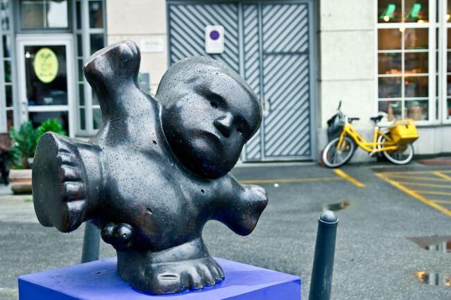 Dancing Boy Statue in Maribor