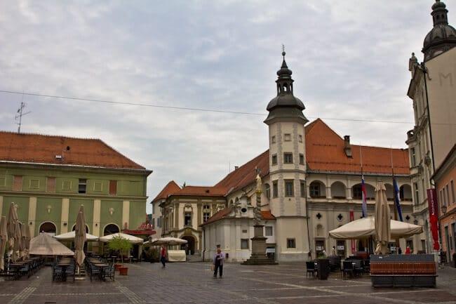 Maribor Castle in Slovenia