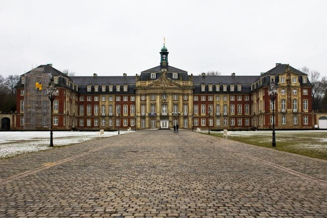 The old Prince-Bishops Palace in Muenster