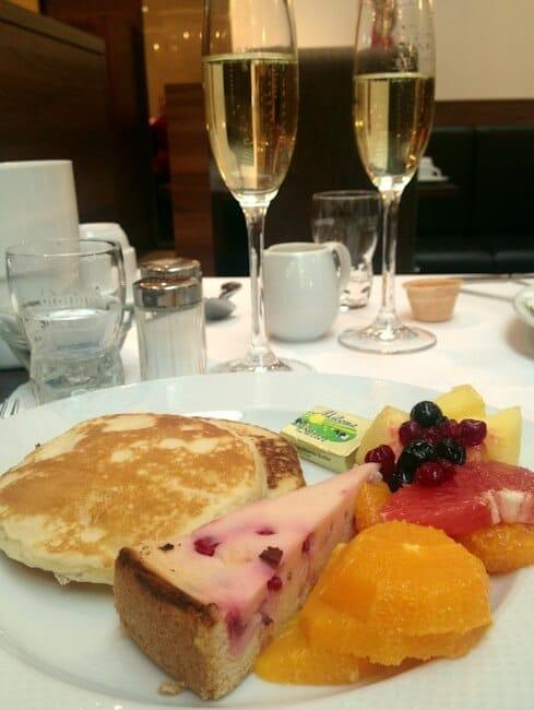 Champagne Breakfast at Treff Hotel in Muenster