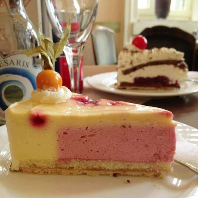 Cake at Cafe Kleimann