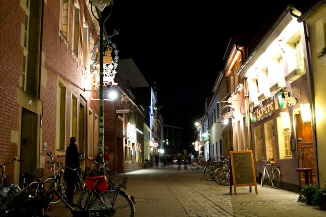 Nightlife in Muenster (kinda quiet)