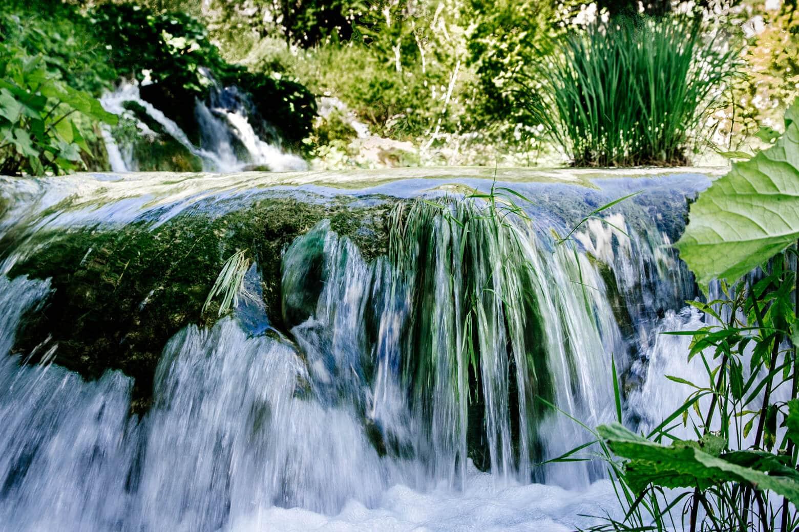 Mini Waterfall in Croatia