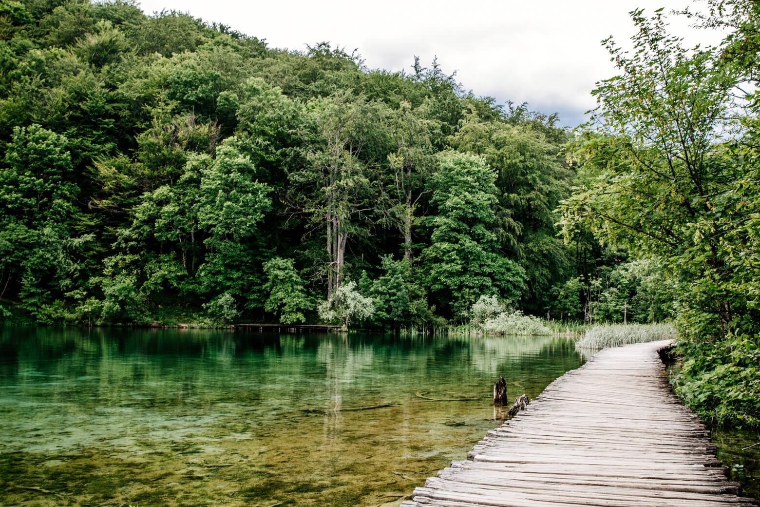 Trail C at Plitvice Lakes National Park