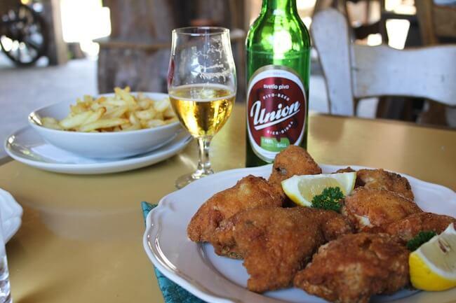 Fried Chicken in Slovania