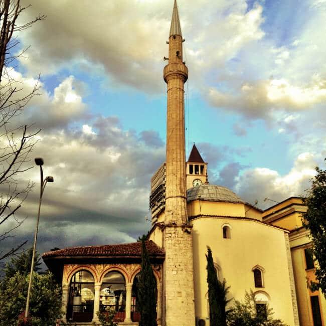 Et'hem Bey Mosque in Tirana Albania
