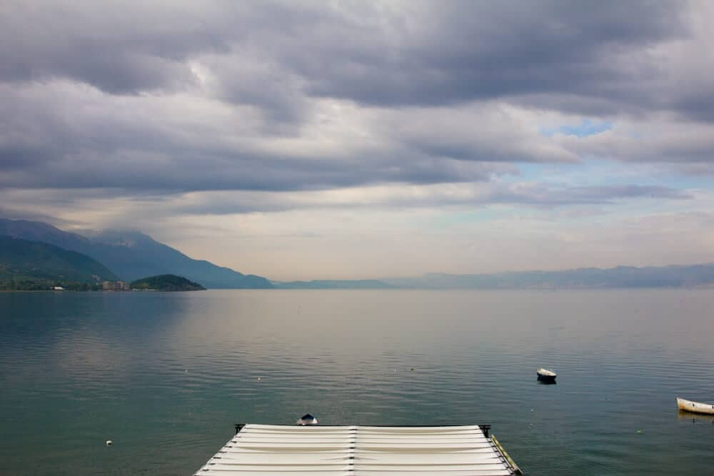 For a resort town Ohrid can be surprisingly tranquil.