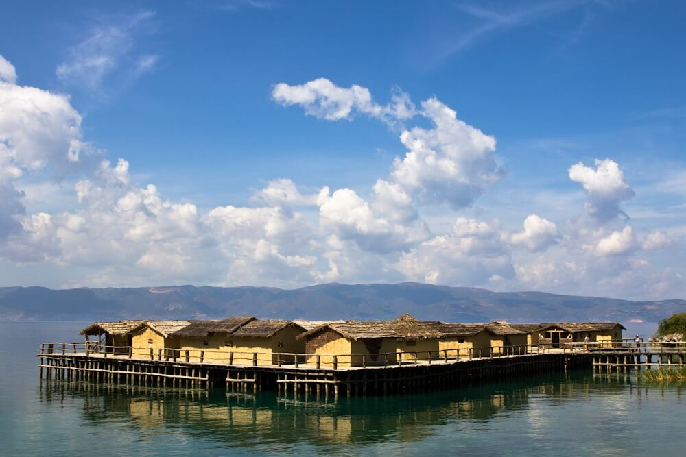Going back in time at the Bay of the Bones on Lake Ohrid