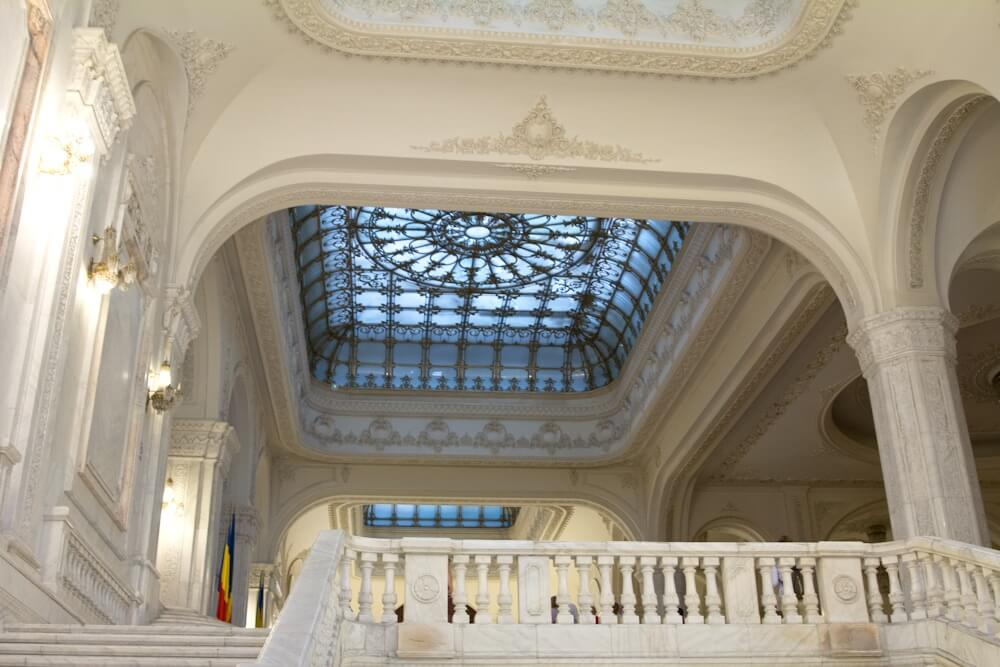 Another marble staircase for Ceaucescu
