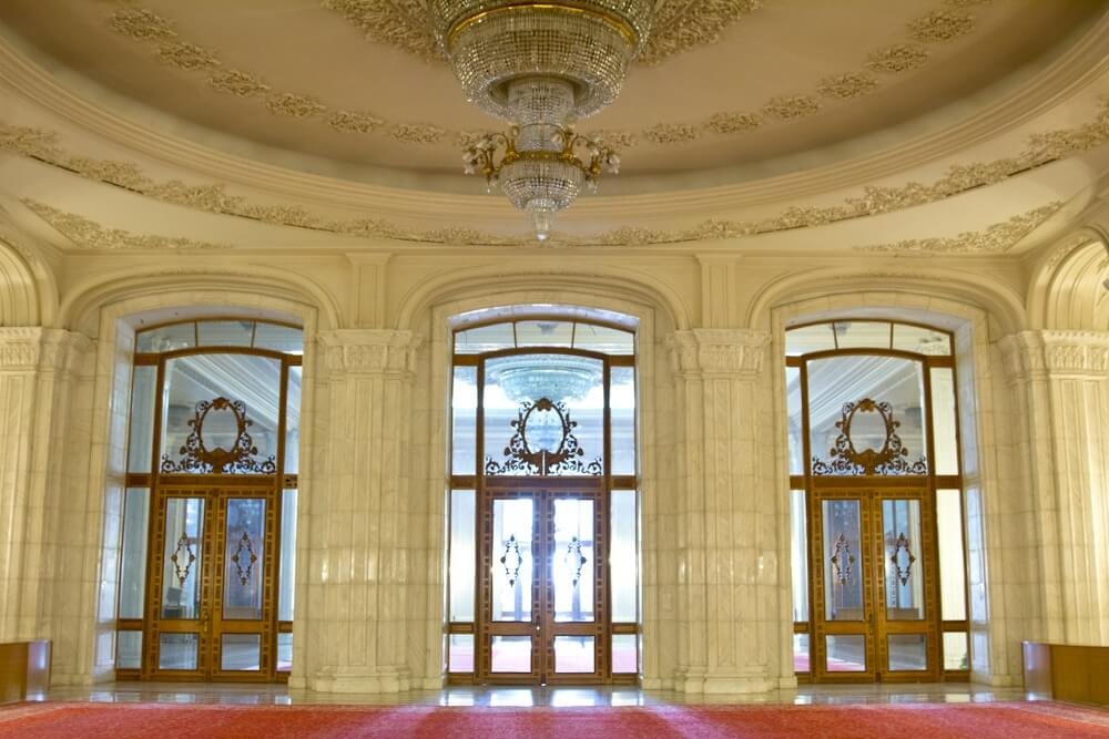 Palace of the People in Romania