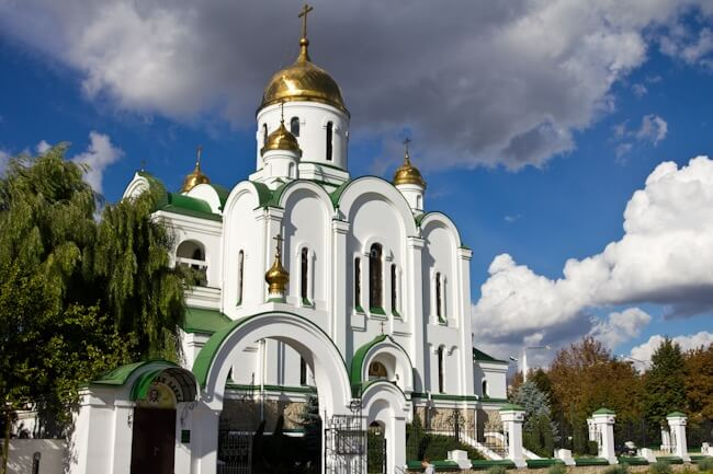 Russian Orthodox Church in Tiraspol
