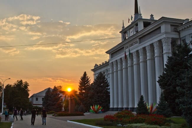 Visiting Transnistria on Independence Day