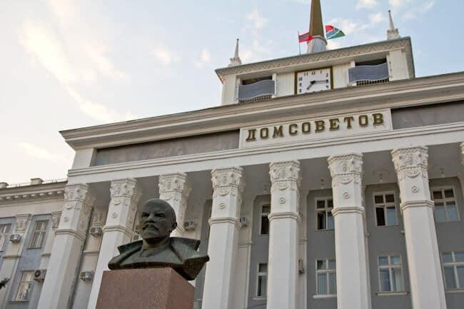 House of Soviets in Tiraspol Transnistria