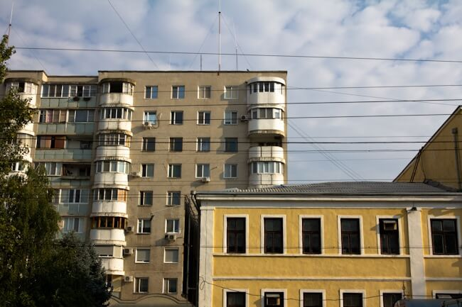 Soviet Style Architecture in Transnistria