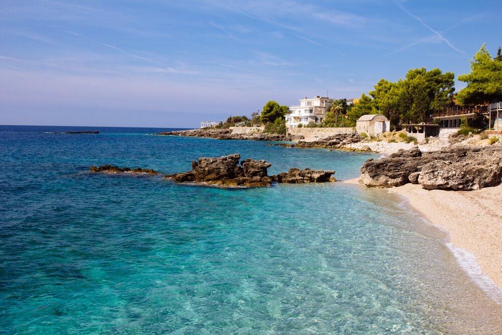 Dhermi - one of Albania's best beaches