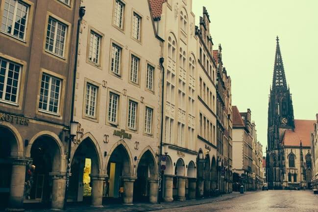 Principalmarkt in Muenster