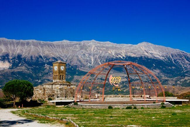 View from Gjirokastra Castle
