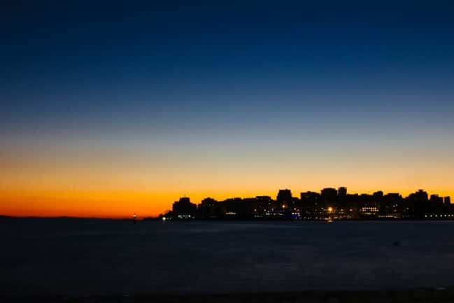 Typical Sunset in Saranda