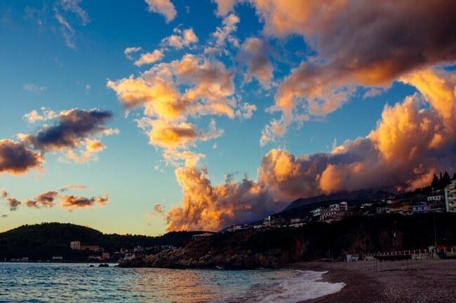 Himara on the Albanian Riviera