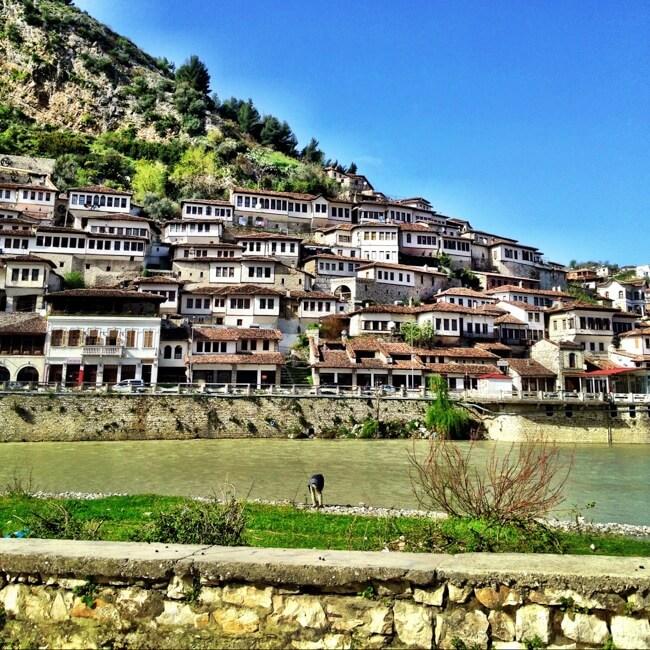 Berat Albania in April