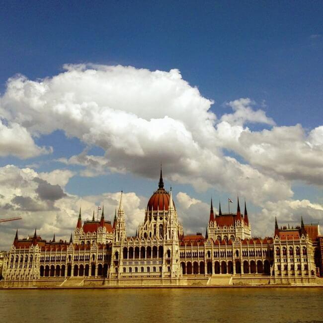 Budapest Hungary in June
