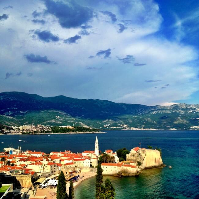 Budva Montenegro in June 2013