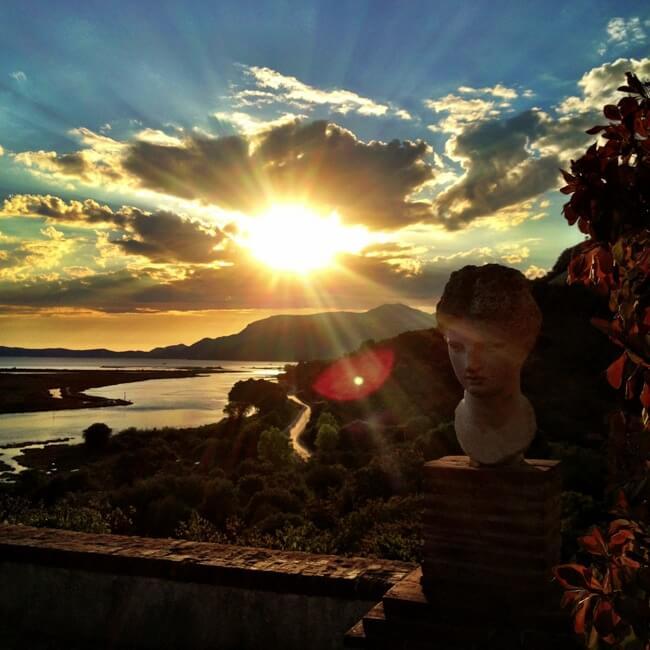 Butrint Albania in September
