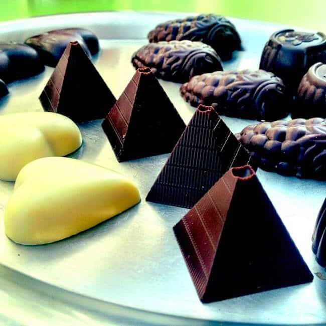 Urban Cafe Pyramid Chocolate