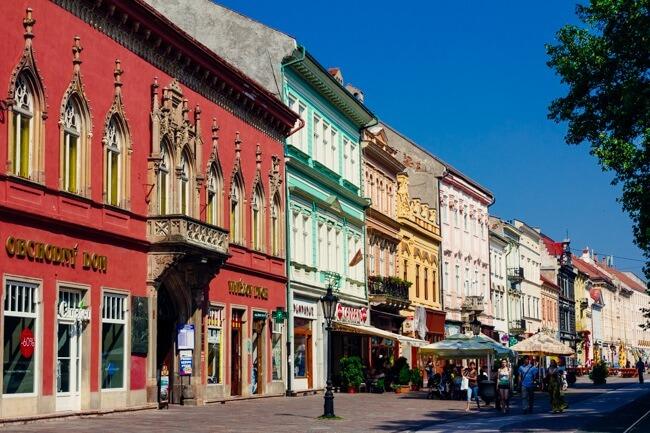 Kosice's Main Street