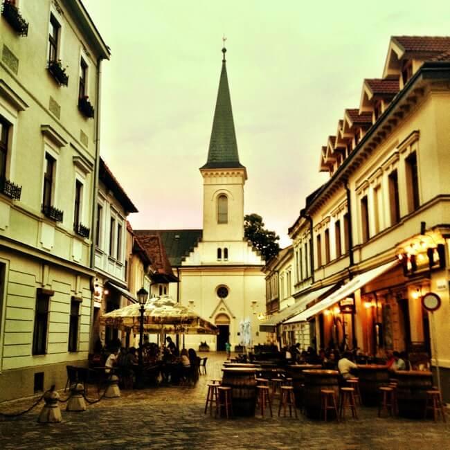 Kosice Slovakia in June