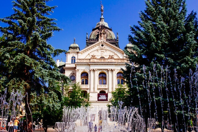 Musical Fountain in Kosice