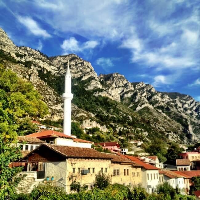 Kruja Albania in October