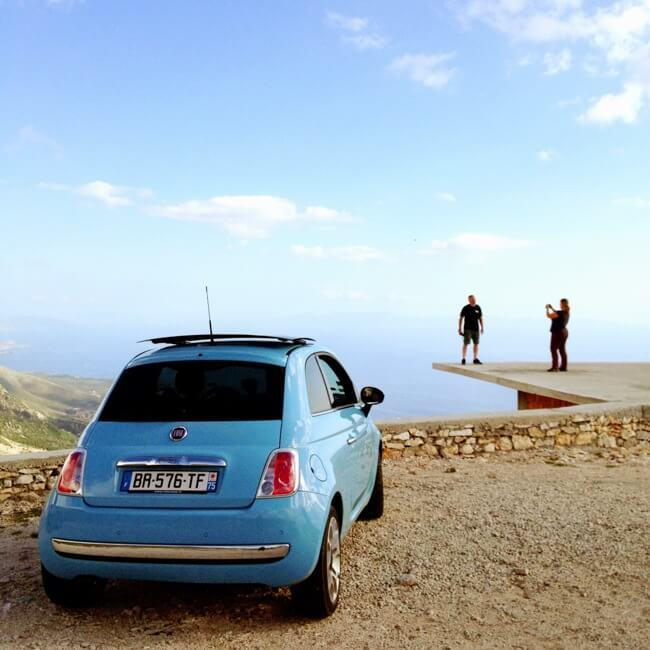 Llogara Albania in September