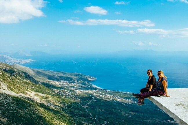 Living life on the edge in Albania