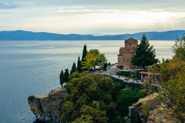 Peaceful Lake Ohrid