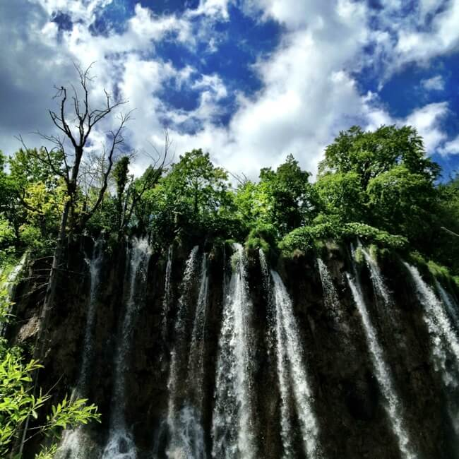 Plitvice Lakes Croatia in June